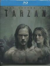 The legend of Tarzan (2016) s.e. Blu Ray metal box