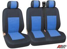 2+1 Azul Suave & Confort Tela Cubiertas Para Asientos Para Volkswagen Caddy