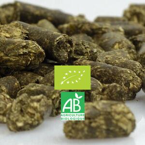 Alfalfa Luzerne pellets 250g TERRALBA engrais vert thé compost oxygéné paillage