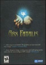 Arx Fatalis PC CD hand to hand role-playing fight undead magic combat RPG game