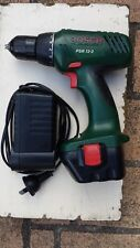 Bosch Cordless Battery Drill 7 mm Keyless Chuck. With Charger. Battery Dead