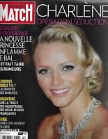 Paris Match French Magazine Princess Charlene Argentina Syria Pedro Almodovar