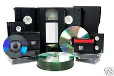 2 X VHS/VHS C/8mm/Hi 8/Digital 8/Mini DV TO DVD DISK - 2 Tapes To DVD Transfer