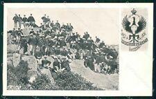 Militari 41º 42º Reggimento Fanteria Brigata Modena cartolina XF4896