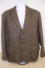 Harris Tweed Hand Woven Size 42 Men's Sports Coat Suit Blazer Scottish Wool