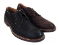 NEW FASHION MENS LACE UP WINGTIP OXFORDS CASUAL LEATHER LINED DRESS SHOES