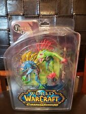 World of Warcraft Action Figure Series 4 Fish-Eye & Gibbergill NEW UNOPENED