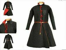 Best Item Medieval Gambeson Black Color Reenactment Costume Sca