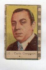 figurina ANTEGUERRA ATTORI/CANTANTI CARLO COMPANINI