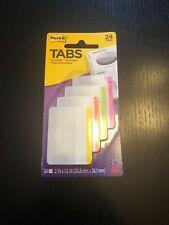 3m Post It Tabs Durable Writable Repositionable 2 X 15 24 Tabs Nip
