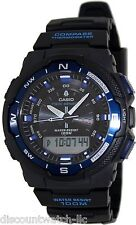 Casio SGW500H-2B Men's Twin Sensor Temperature Compass Analog Digital Watch