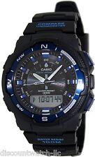 Casio SGW500H-2B Mens Twin Sensor 100M Digital Sports Watch Compass Thermometer