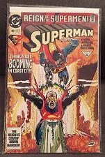 Superman 80 VF AUG 1993 DC Comics Reign Supermen