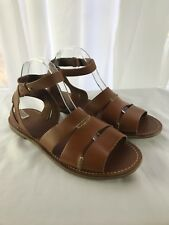 Tommy Bahama Women's Sandals Size 10M Brown Leather Straps