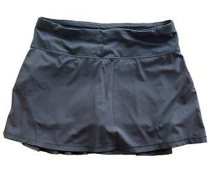 "Lululemon 13"" Circuit Breaker Skirt Nocturnal Teal Size 4 EUC"