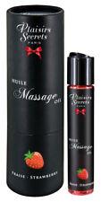 Gioco Erotico per Coppia Preliminari ed oral sex Olio da Massaggio alla Fragola