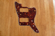 PICKGUARD BROWN TORTOISE SHELL 4 PLY FOR FENDER JAZZMASTER