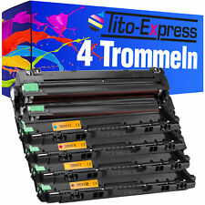 4 tamburi XXL ProSerie per BROTHER dr-241 hl-3150cdn hl-3150cdw mfc-9130cw