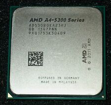 AMD A4-5300B 3.4 GHZ DUAL CORE Processor, AD530BOKA23HJ, SOCKET FM2