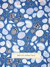 Nautical Sea Shell Toss Blue White Cotton Fabric Benertex Cabana #05973 YARD