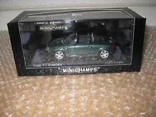 Minichamps 1:43 AUDI TT Roadster Verde Metallizzato N. 430017231/q908