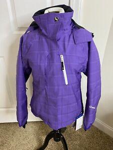 Women's Sunice Naquita Waterproof Breathable Ski Jacket •Size 4P *NWT