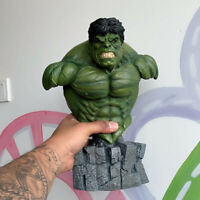 1/4 Hulk Bust Resin Model Avenger Collections Gifts 30cm Painted New