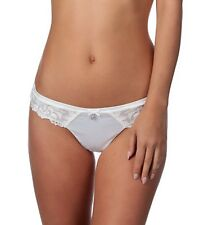 630a4b4526ee5 Panache Womens Serenity Bridal Low rise Ivory Thong 7539