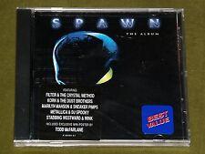 SPAWN THE ALBUM OST CD KORN MARILYN MANSON METALLICA SLAYER *RARE* USA PRESS New