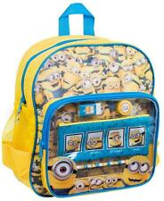 Official Despicable Me Minions Childrens Backpack With Stationery Set