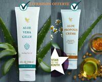 Gel Aloe Vera & Creme Propolis pour Visage et Corps Skin Cream Mixte ✔ NEUF FR