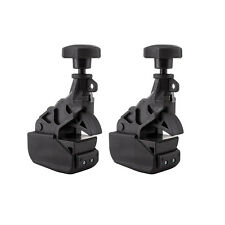 2pcs Car Truck Tire Changer Clamp Drop Center Tool Rim Clamp Heavy Duty Machine