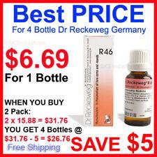 2 Pack Dr.Reckeweg R46 Drops EXPIRY NOV 2021