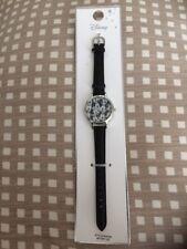 Disney Mickey Mouse Primark Reloj De Mujer Correa De Cuero Genuino Nuevo Y Etiquetado