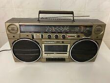 Sharp GF-5757 Radiorecorder / Ghettoblaster - made in Japan -