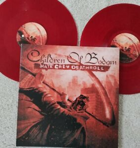 Children of Bodom - Hate Crew Deathroll Limited 2 Rot Red Vinyl LP Alexi Laiho