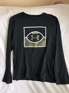 Under Armour Youth XL Boys Football Theme Shirt