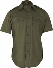 Clearance- Propper F5301-38-330-L Dress Shirt - Short Sleeve, Olive, Large