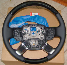 Range Rover & Sport L405 & L494 Grand Black Wood & Leather Heated Steering Wheel