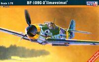 MESSERSCHMITT Bf-109 G-2 (FINNISH, HUNGARIAN & BULGARIAN MKGS) 1/72 MISTERCRAFT