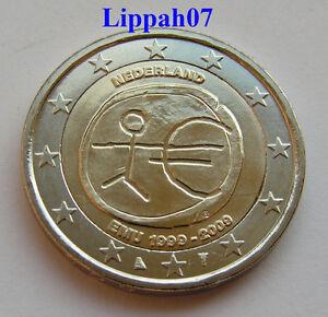 Nederland 2 euro 10 jaar EMU 2009 UNC