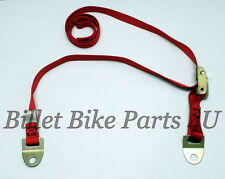 Kawasaki ZX14 ZX14R Front Red Lowering Strap(030212-001RD)