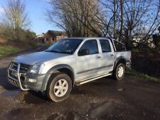Isuzu rodeo Chevrolet luv 4x4 double cab pick up 3.0td No VAT