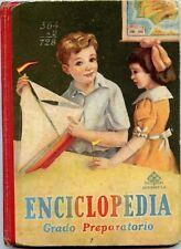 ENCICLOPEDIA GRADO PR Vintage School Book Libro Texto Colegio 1950, 114 Pages VG