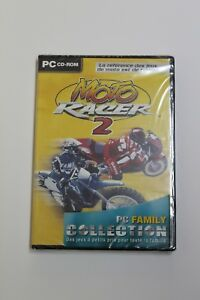 Motorcycle Racer 2 PC Set Cd-Rom. Language French, New And Sealed