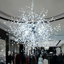 Modern Dandelion Chandelier LED Firework Pendant Ceiling Light Lamp Decor