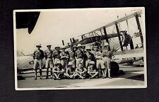 1934 BW Photo British Royal Air Force RAF Squadron 47 Egypt Fairey Gordon Plane