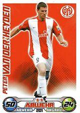 201 Peter van der Heyden - 1. FSV Mainz 05 - TOPPS Match Attax 2009/2010