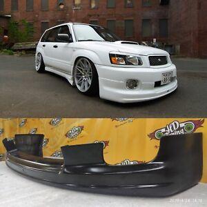 STI lip for cross sport bumper subaru forester SG 2002-2004