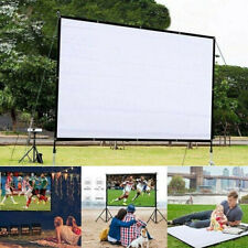 Portable Foldable Projector Screen 16:9 HD Home Cinema Theater 3D Movie Hot Sale